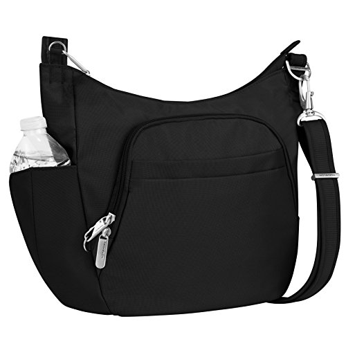 Travelon Anti-Theft Crossbody Bucket Bag
