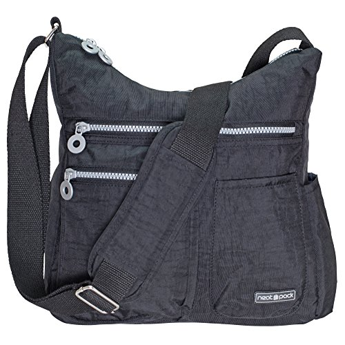NeatPack Crossbody Bag for Women with Anti Theft & RFID Pocket