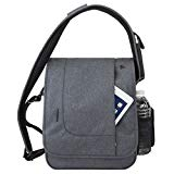 Travelon Men's Anti-Theft Urban Messenger Bag