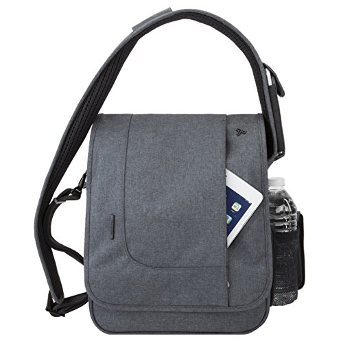 Travelon Men's Anti-Theft Urban Crossbody Messenger Bag