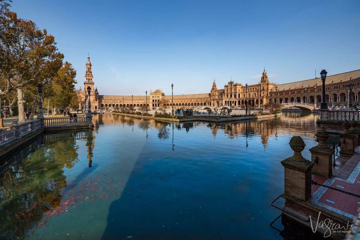 Plaza Espana is one of the most popular attractions in Spain and a must do on any southern Spain itinerary