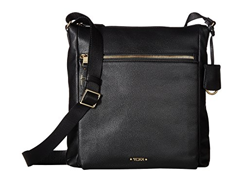 TUMI - Voyageur Canton Leather Crossbody Bag - Satchel Purse for Women