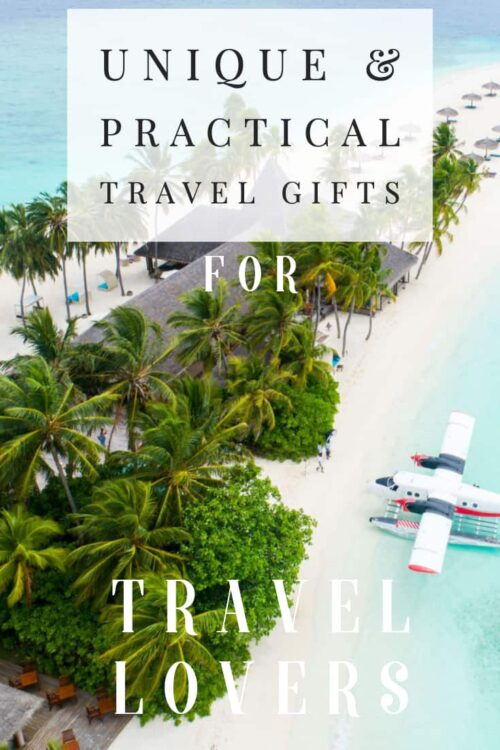 Looking for travel gift ideas that are useful & thoughtful? We have unique travel gifts for travel lovers from budget to luxe.#travelgifts #buyingguide #traveltips