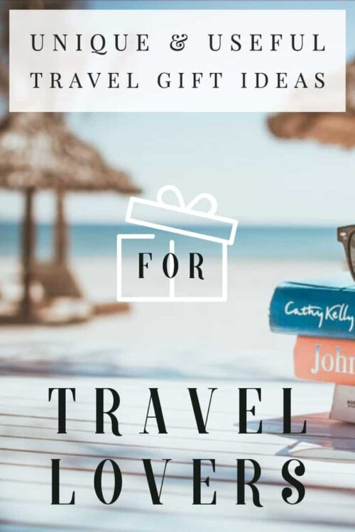 Unique travel gifts for people who love to travel | Gifts for travel lovers | These useful and unique gifts for travellers are the perfect addition to any travel bag. #travelgifts #buyingguide #traveltips