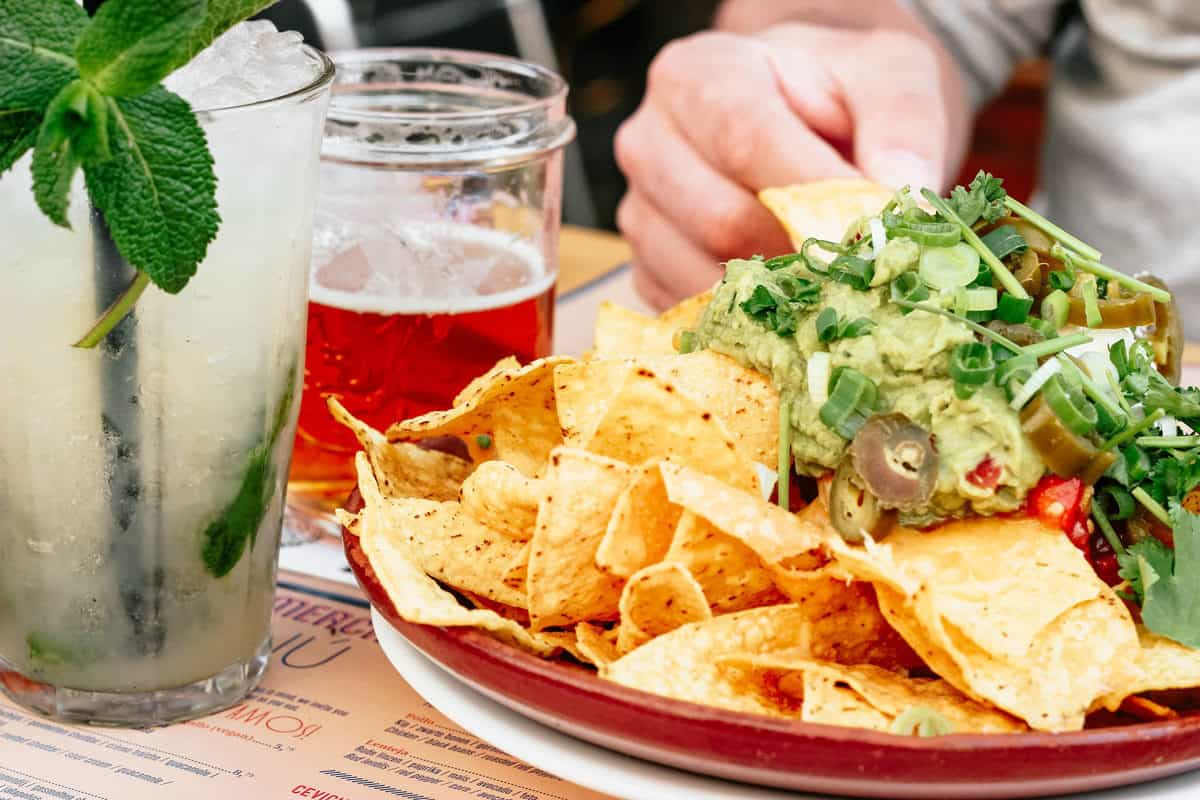 Grab a mojito and a big plate of nachos at the Redland Market food trucks or listen to live music for free.