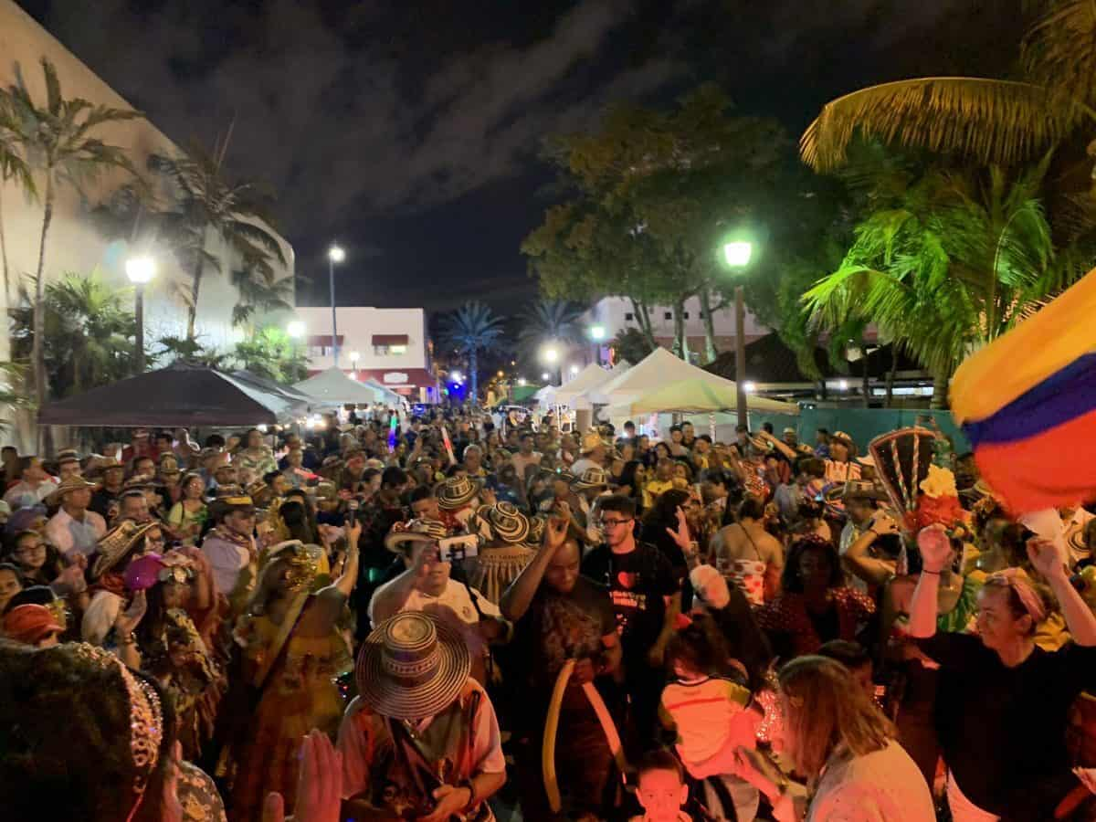 Street party in Little Havana is one of the best free events in Miami each month.