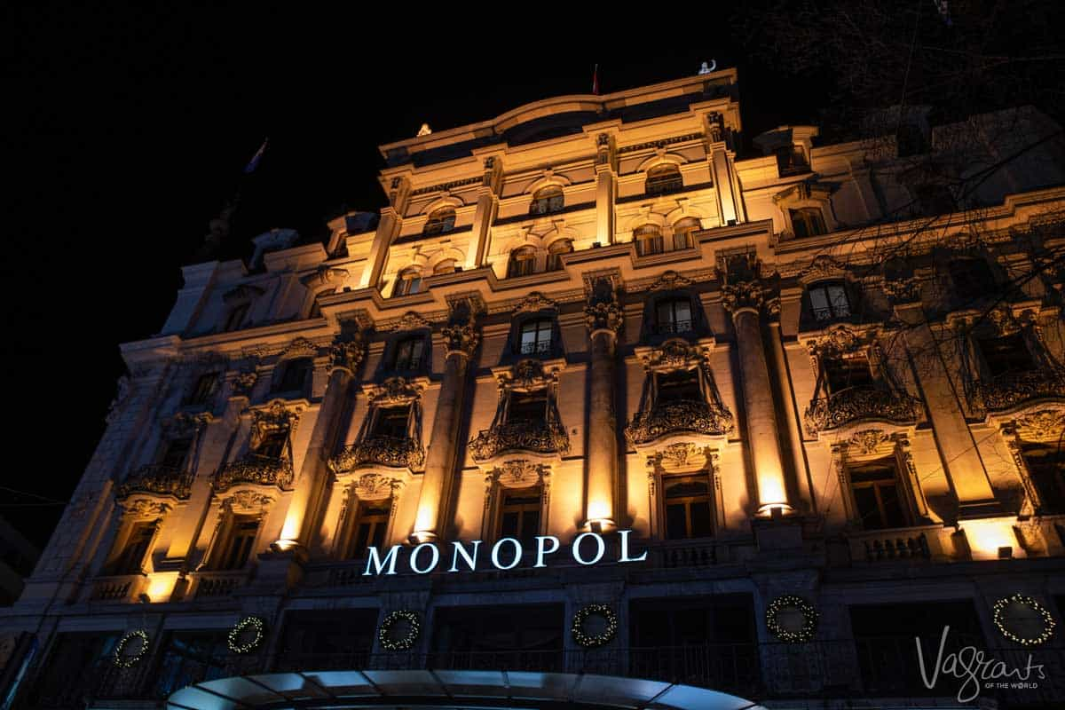Hotel Monopol in Lucerne Switzerland, the best place to stay in Lucerne for value for money.