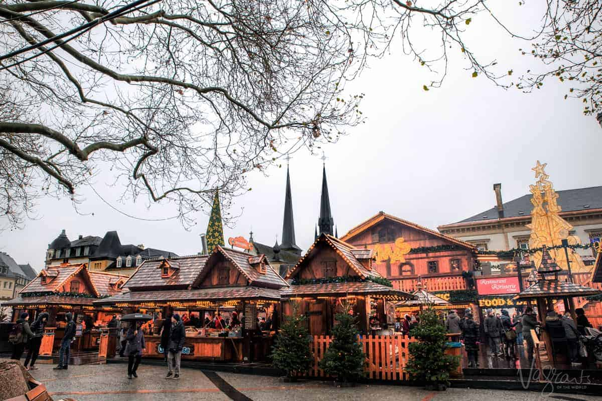Christmas markets in Luxembourg. One of the stops on our Christmas market cruise on the Rhine