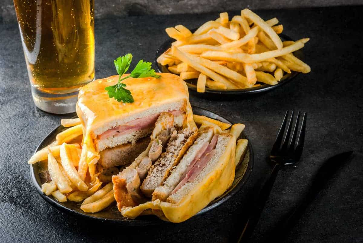 Francesinha is a sandwich typical to Porto. For lunch during your 2 days in Porto itinerary