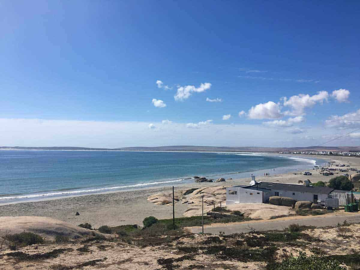 The town of Paternoster on the west coast of South Africa is popular for water sports and wildlife viewing.
