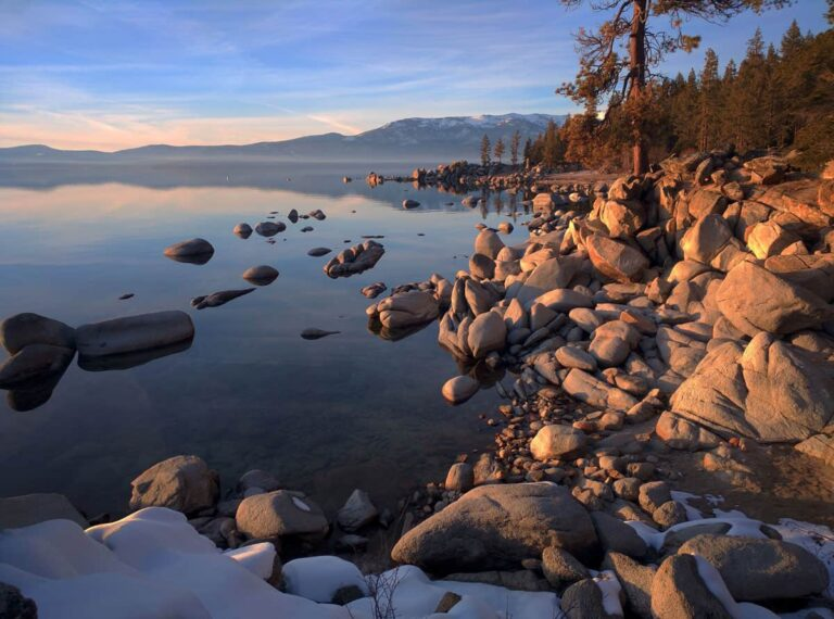 Planning to go hiking in Lake Tahoe. These stunning views over the water are what you can expect on most trails