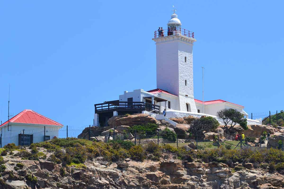 Cape St Blaize lighthouse in Mossel Bay South Africa