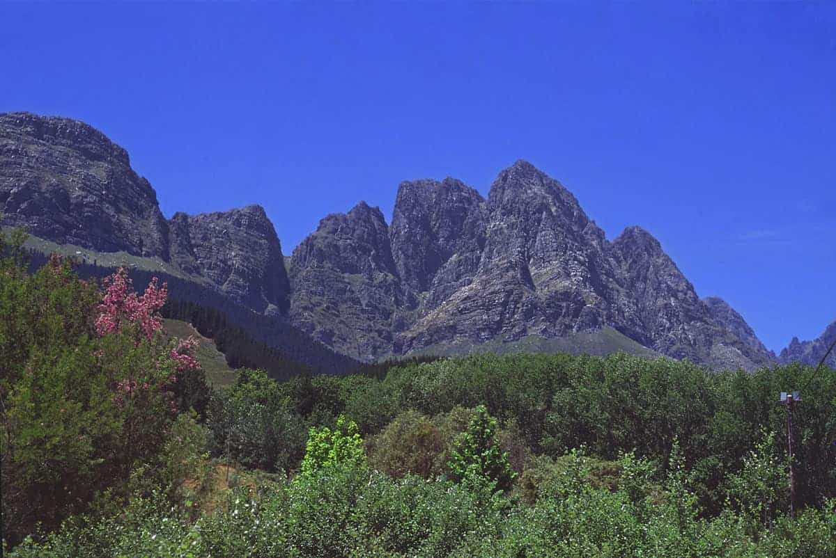 Jonkershoek Nature Reserve Twin Peaks hike