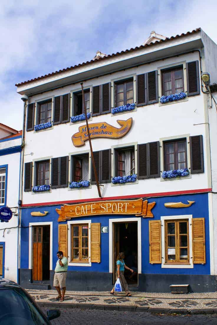 Peters Cafe Sport and iconic spot for a drink on Faial