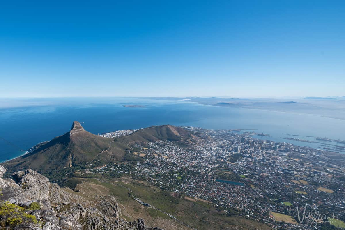 Lions Head hike Table Mountain, Cape Town