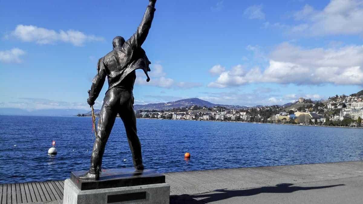 Freddie Mercury Statue, Montreux.