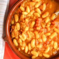 Traditional Loubia Recipe – Stewed Moroccan Beans