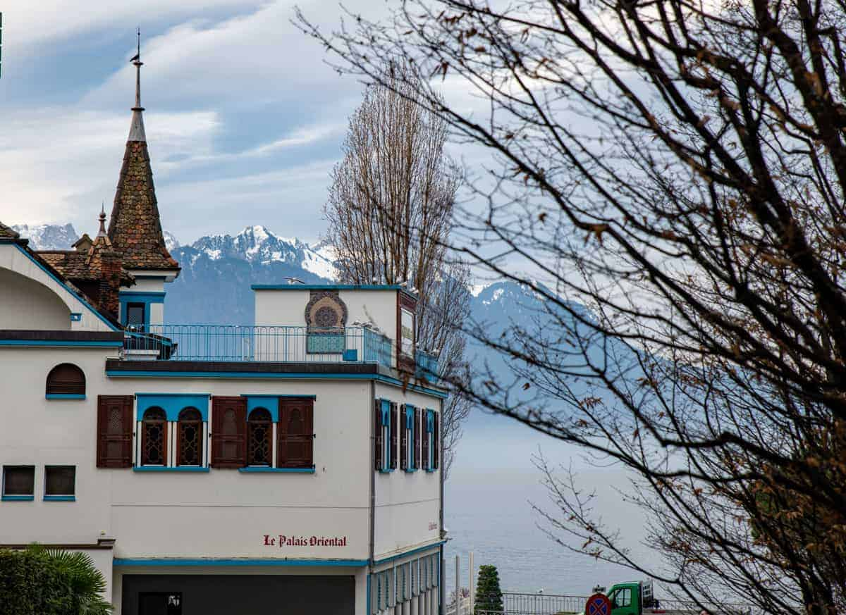 La Palais Oriental restaurant on the lake, Montreux