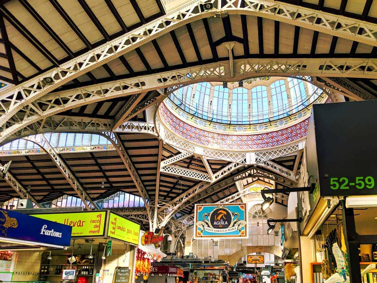A great place to wander for free is the central markets, for food and the architecture.