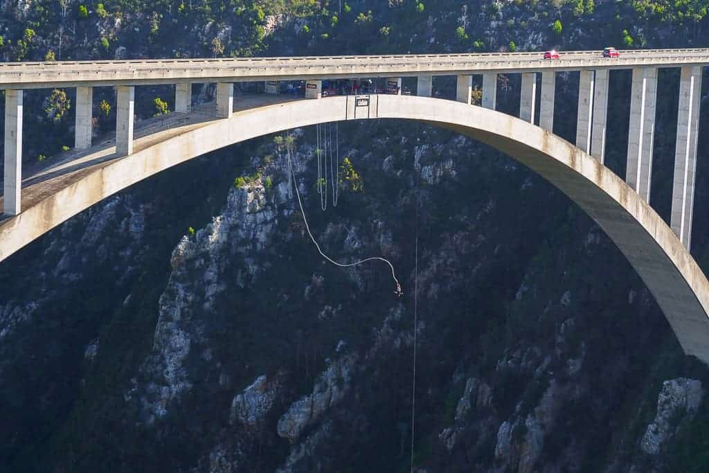 Bloukrans Pass Bridge Bungee Jump