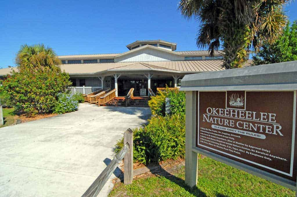 Okeeheelee Nature Center Building Florida.