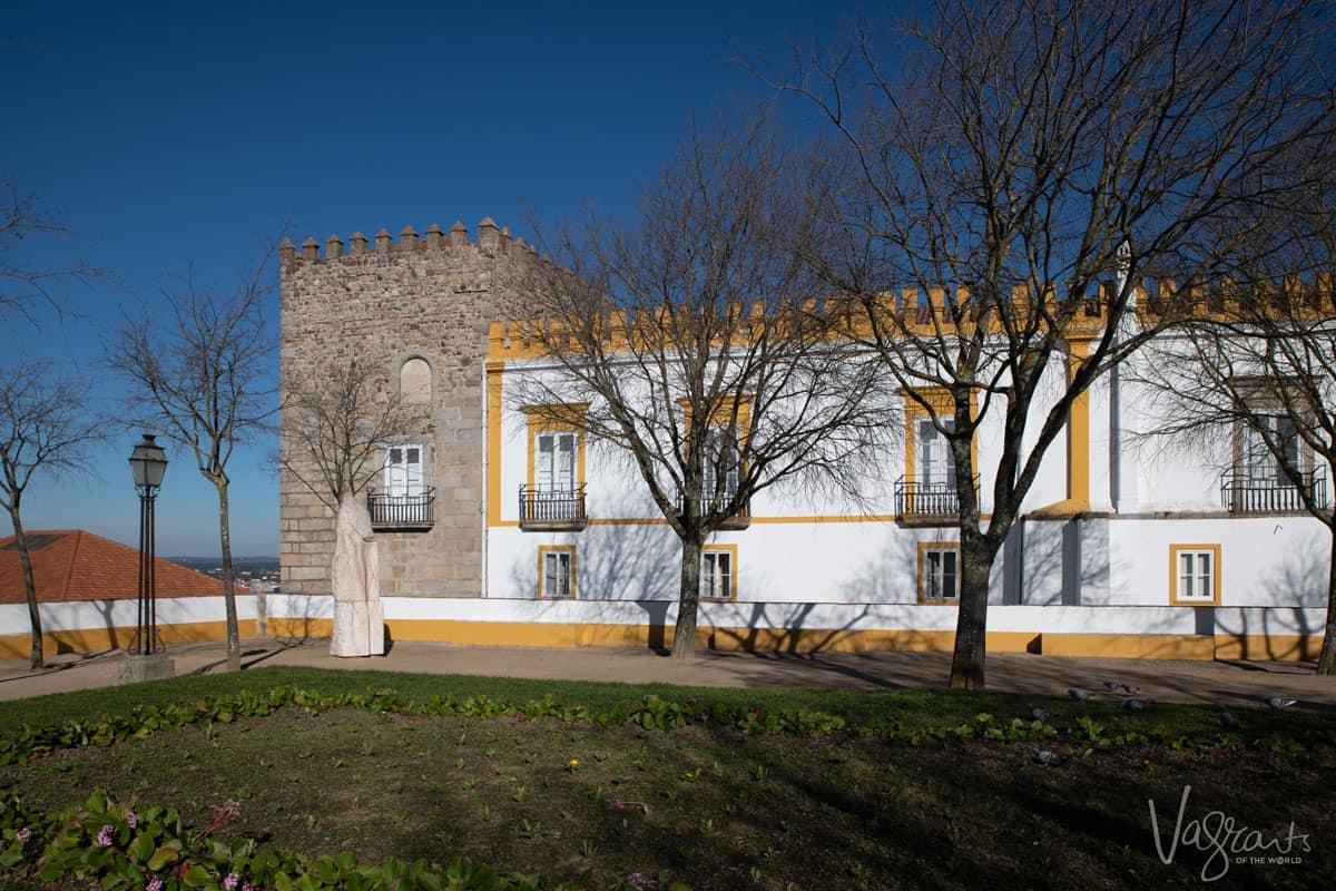 The garden of Diana in Evora Portugal.