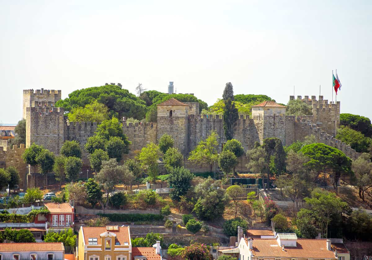 São Jorge Castle in Lisbon.