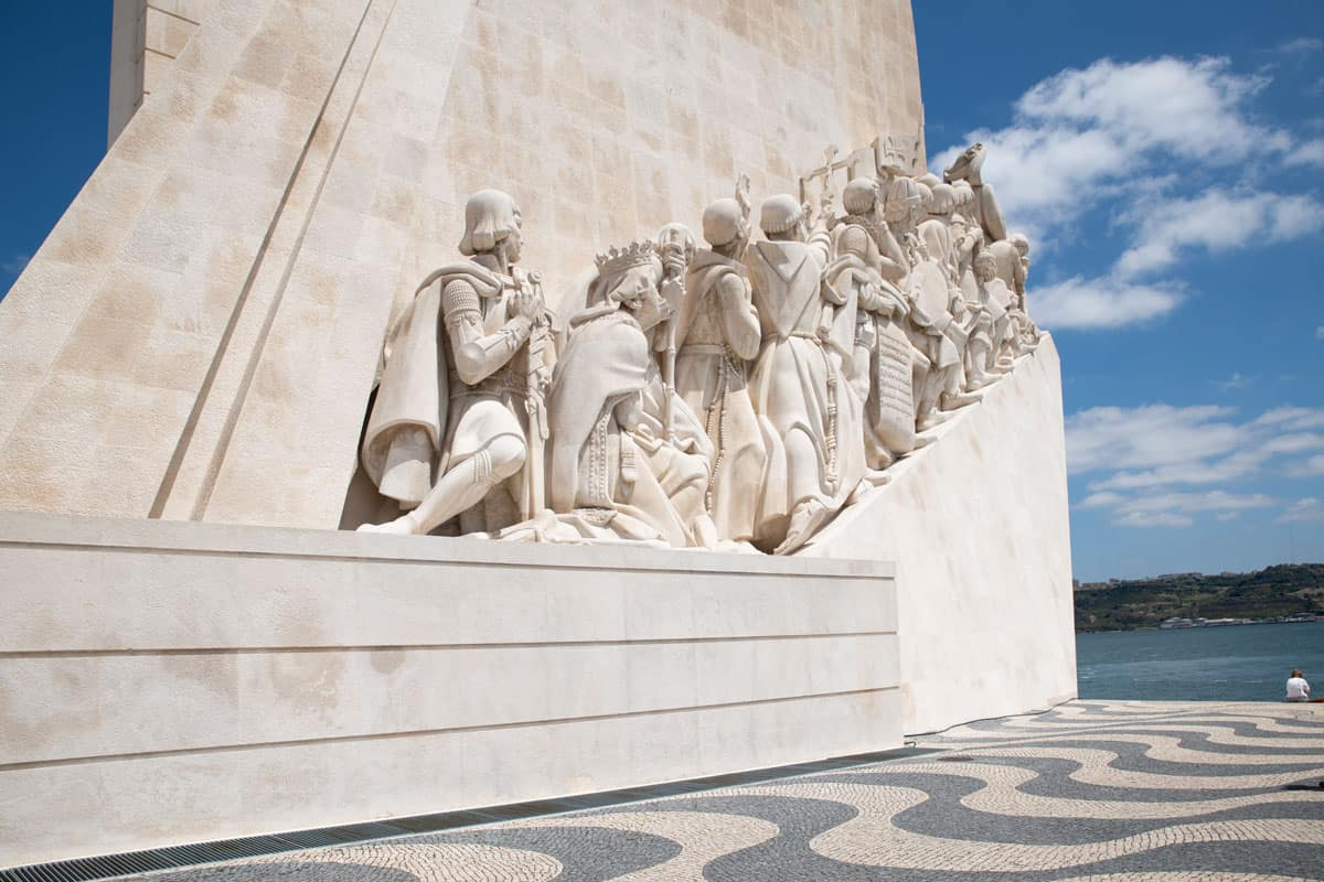The monument of Discoveries in Belem Lisbon.