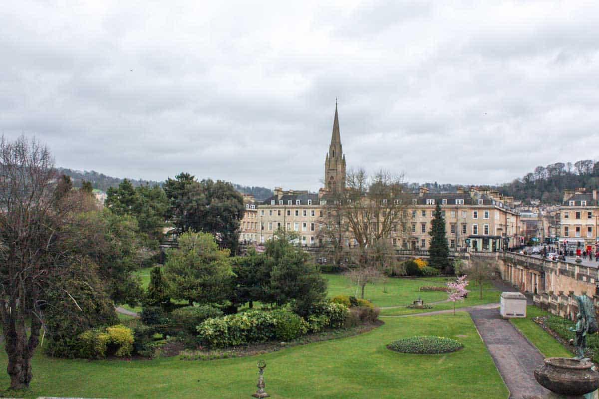 The Sydney Gardens in Bath England.