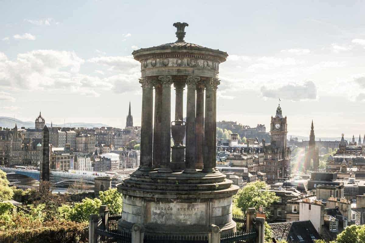 Edinburgh Acropolis on Calton Hill.