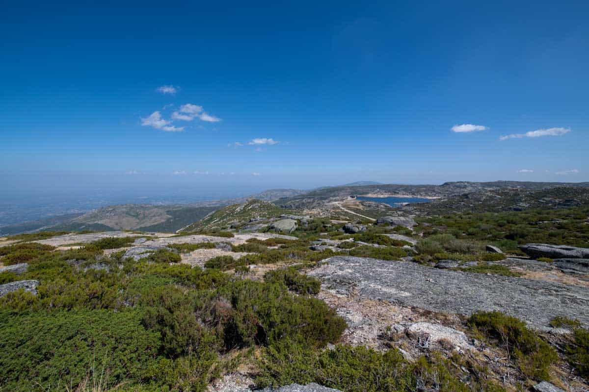 Views from the top of Serra da Estrela in Portugal.