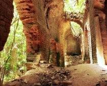 Exploring The Central Playa Grande Ruins- Vieques Island