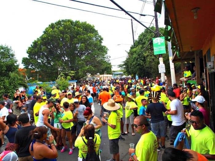 Final Parade Patronales Vieques