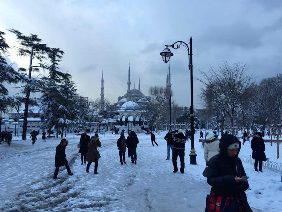 Sultanahmet Square, Classic Istanbul Turkey