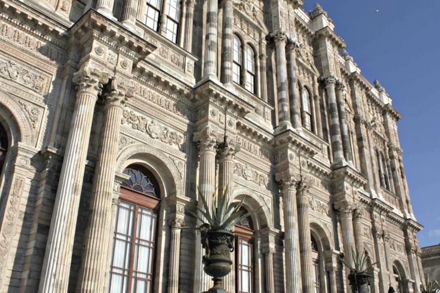 Dolmabahçe Palace. Istanbul Turkey