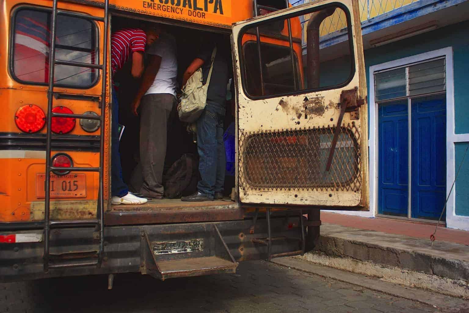 Chicken Bus Matagalpa Nicaragua