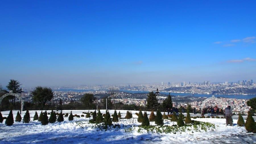 Camlica Hill. Istanbul Turkey
