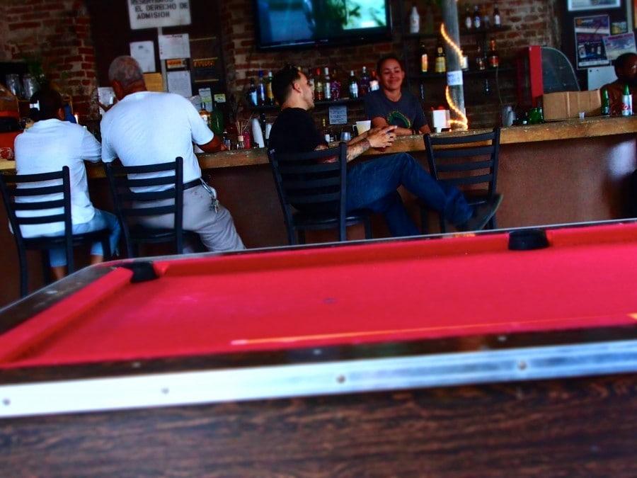 Bar Plaza Vieques Island